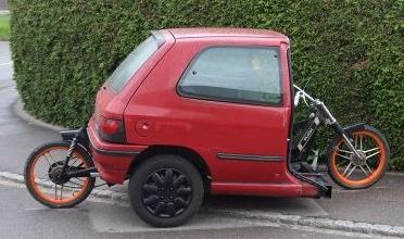 Swiss Teen S Moped Car Scootcats