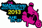 Mad Bastard Scooter Rally 2013 logo